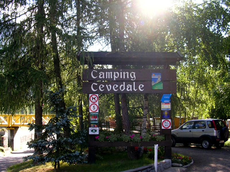 Camping cevedale